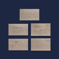 CDK - Reports - Wireframes